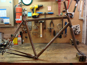 Photo: Finished frame and fork