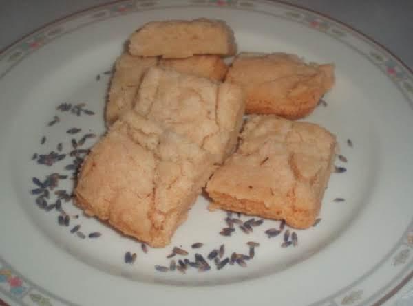 Lavender Shortbread Cookies Recipe
