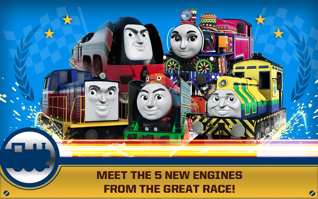 Thomas   Friends  Race On   screenshot. Thomas   Friends  Race On    Android Apps on Google Play