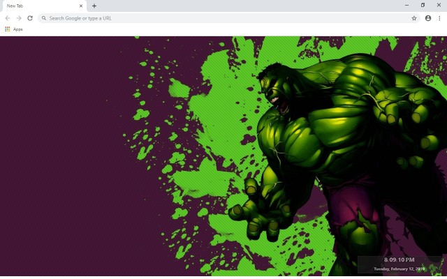 Hulk New Tab & Wallpapers Collection