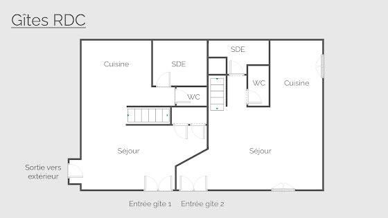 Vente maison 13 pièces 257 m2