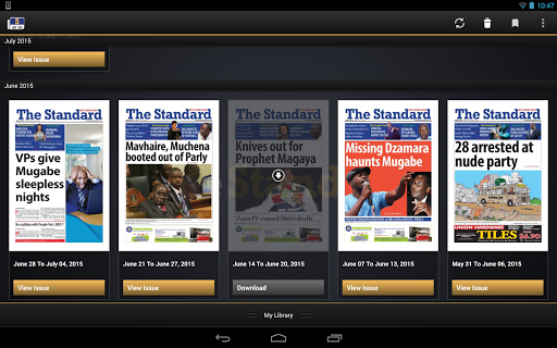 The Standard News Zimbabwe  screenshots 6