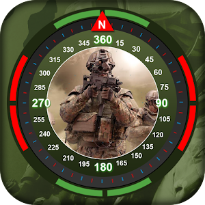 Military Compass – Route Tracker, Location Finder