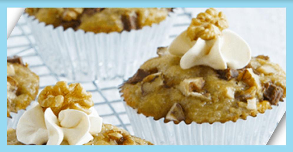 challenging desserts creamy banana cupcakes