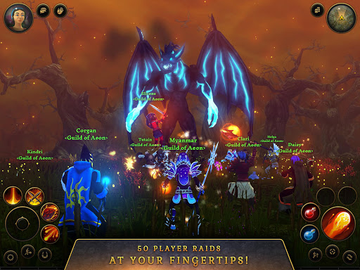 3D MMO Villagers & Heroes 4.40.4 (r53268) screenshots 16