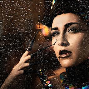 Diana by Jon de Guzman Jr - People Portraits of Women