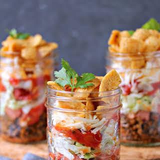 Mini FRITOS Taco Salads.