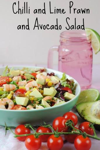 Chilli and Lime Prawn and Avocado Salad