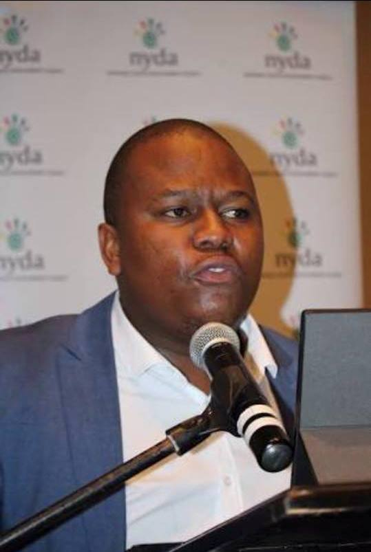 NYDA Executive Chairperson, Sifiso Mtsweni.