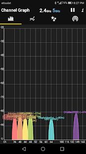 WiFi Analyzer screenshot