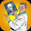 xray scanner body camera prank icon