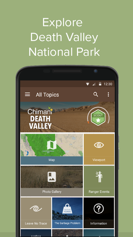 Death Valley NP by Chimani- screenshot