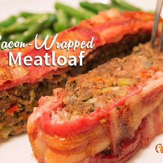 Bacon Wrapped Meatloaf.