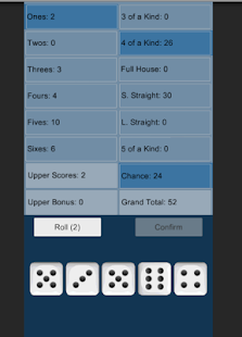 Five Dice Game- screenshot thumbnail