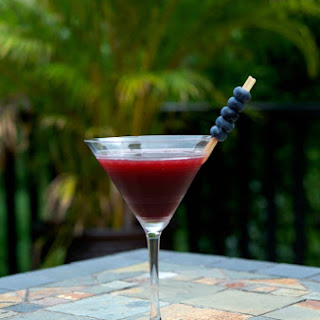 Coconut Berry Martini Recipe