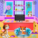 Pet Shop Clean Up: Room Closet Cleaning icon