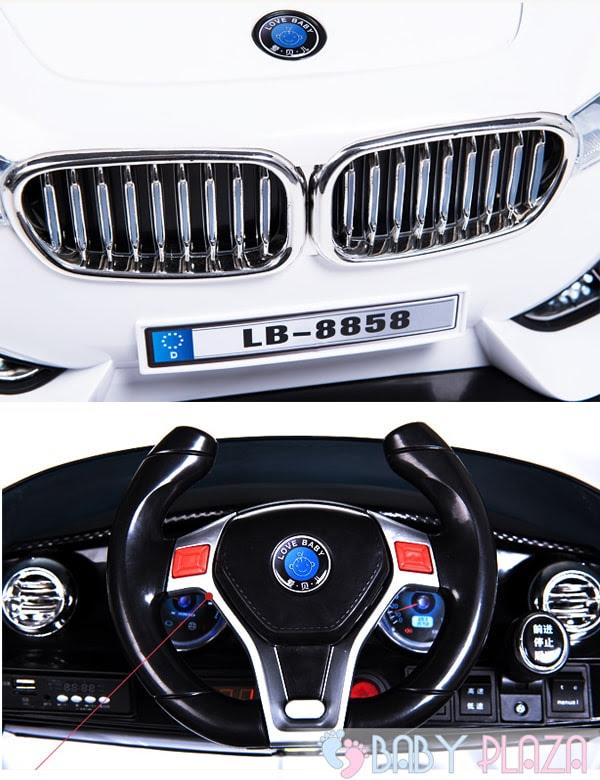Oto điện trẻ em BMW LB-8858 12