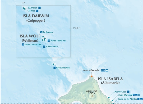 Ilhas de Darwin e Wolf