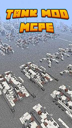 Tank Mod For MCPE'