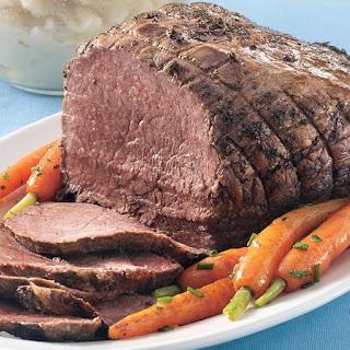 Slow-Cooker Herbed Beef Roast.
