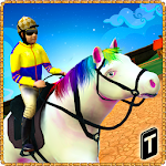 Speedy Pony : Racing Game Icon