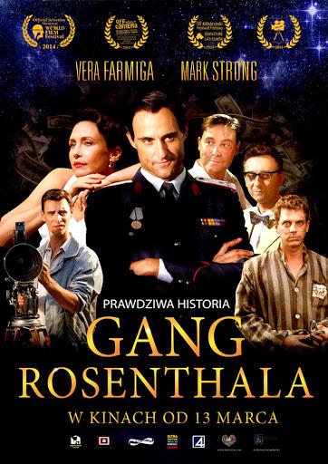 Przód ulotki filmu 'Gang Rosenthala'