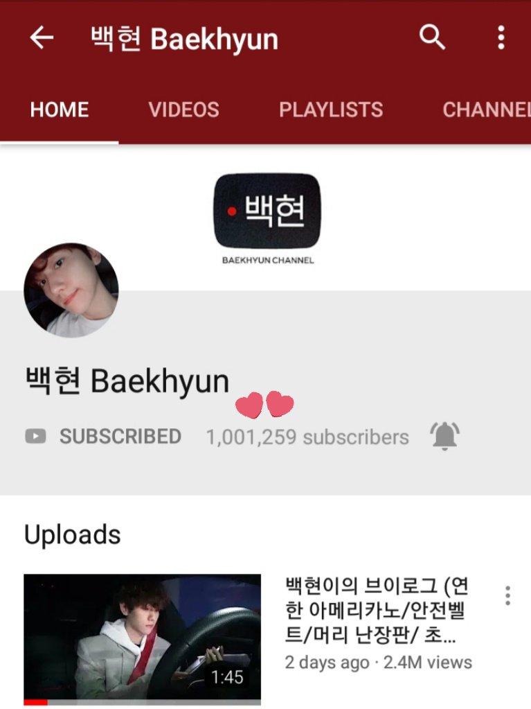 baekhyun youtube