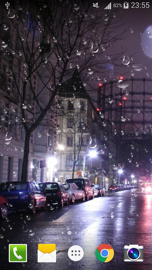 Rain City Wallpaper city rain live wallpaper pro - android apps on google play