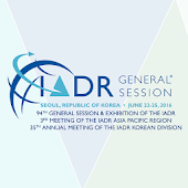 IADR/APR General Session 2016