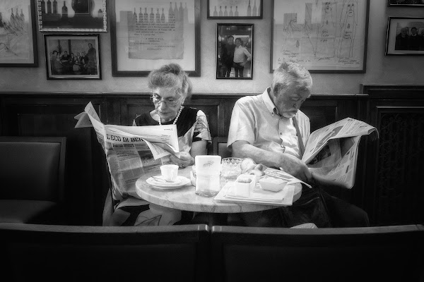 Una coppia nel quotidiano...