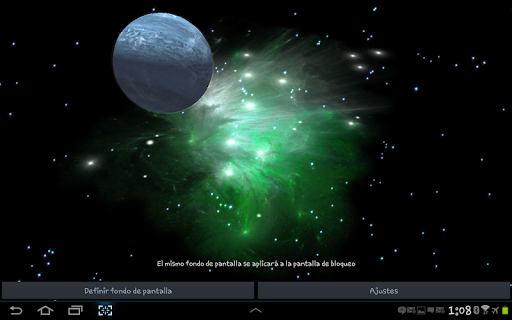 3D Galaxy Live Wallpaper 4K Full screenshot 22