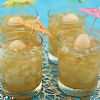 Iced Jasmine Green Tea with Lychee Jelly Recipe