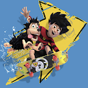 Skating game Dennis and Gnasher icon