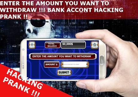 Download BANK ACCOUNT HACKER PRANK : For PC Windows and Mac APK 1