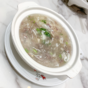C17. Egg Drop Soup with Beef