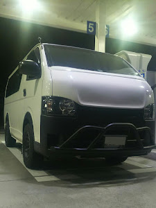 ハイエースバン TRH200V ハイエースDXのカスタム事例画像 アキラ34さんの2019年01月24日20:13の投稿