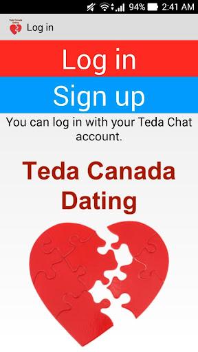 Teda Canada Dating Application