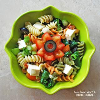 Pasta Salad with Tofu.