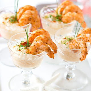 Mini Shrimp + Grits Appetizer Recipe