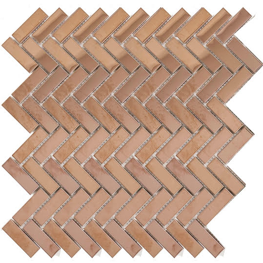 Mosaik Fishbone Copper