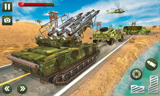 US Army Missile Attack : Army Truck Driving Games  screenshots 4