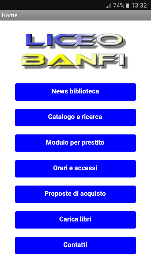 BiblioBanfi- screenshot