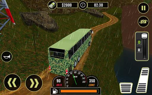 Army Bus Driver 2020: Real Military Bus Simulator apktram screenshots 9