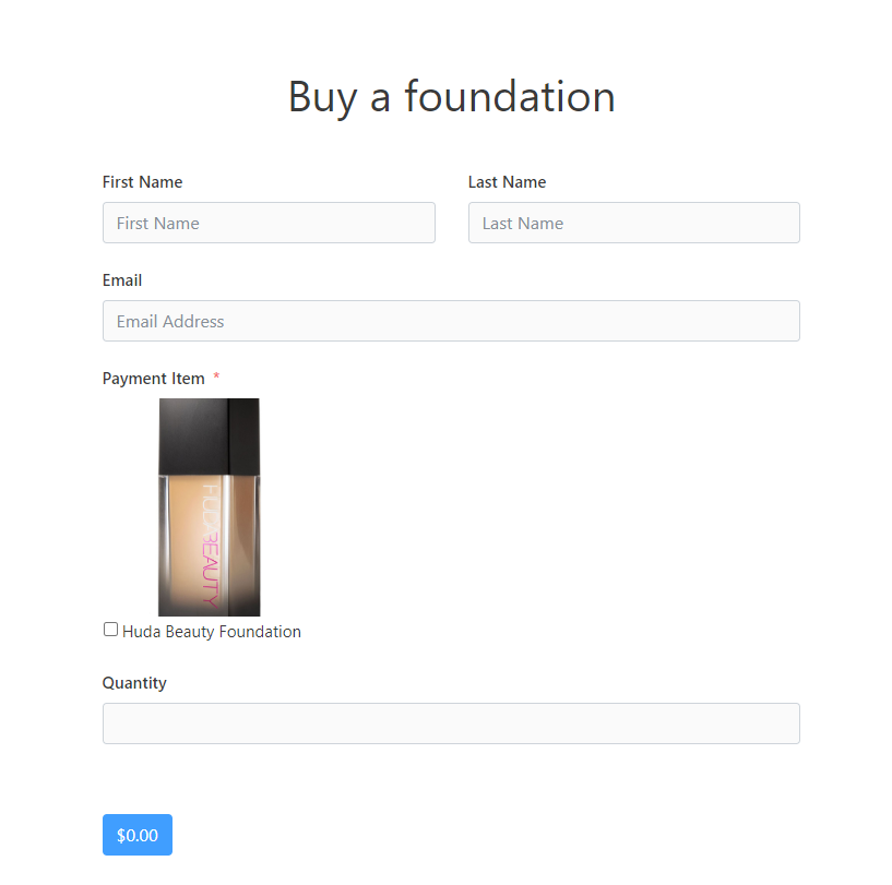 contact forms, WP Fluent Forms, payment integration