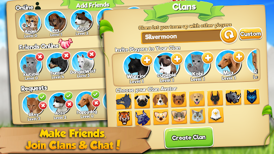 Cat & Dog Online: Pet Animals- screenshot thumbnail