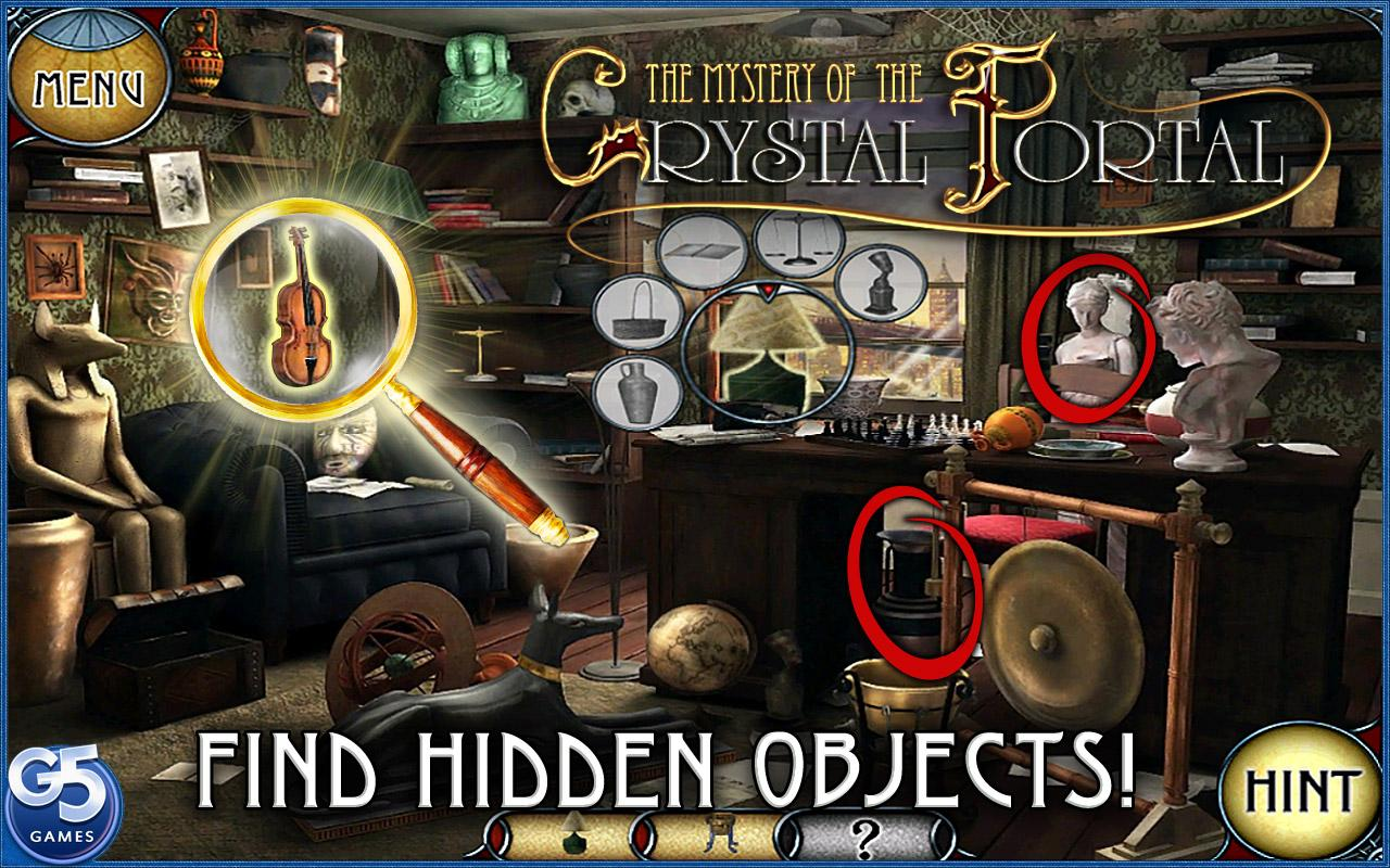 Mystery of the Crystal Portal- screenshot