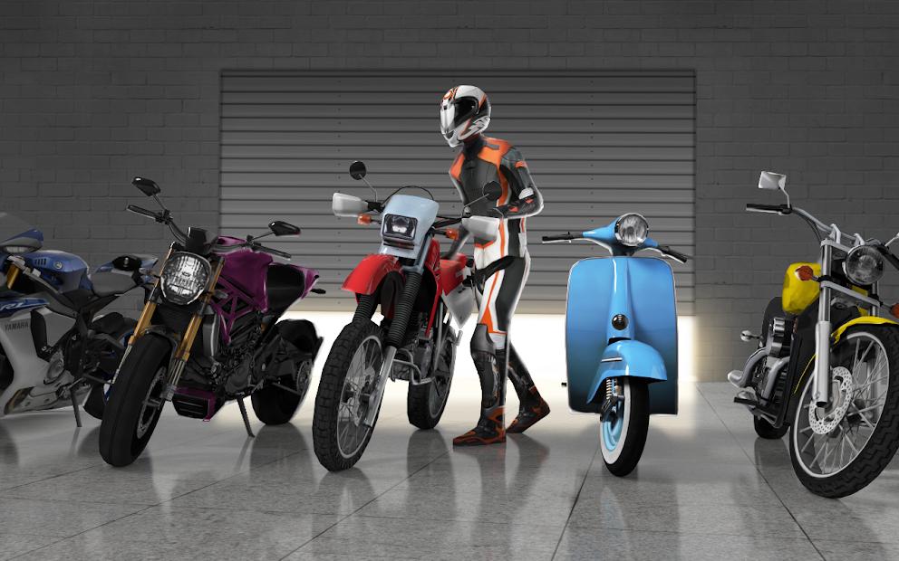 Moto Traffic Race 2: Multiplayer Android App Screenshot