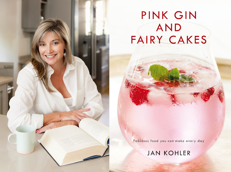 Jan Kohler, the author of 'Pink Gin and Fairy Cakes'.