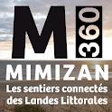 Mimizan360, Sentiers connectés