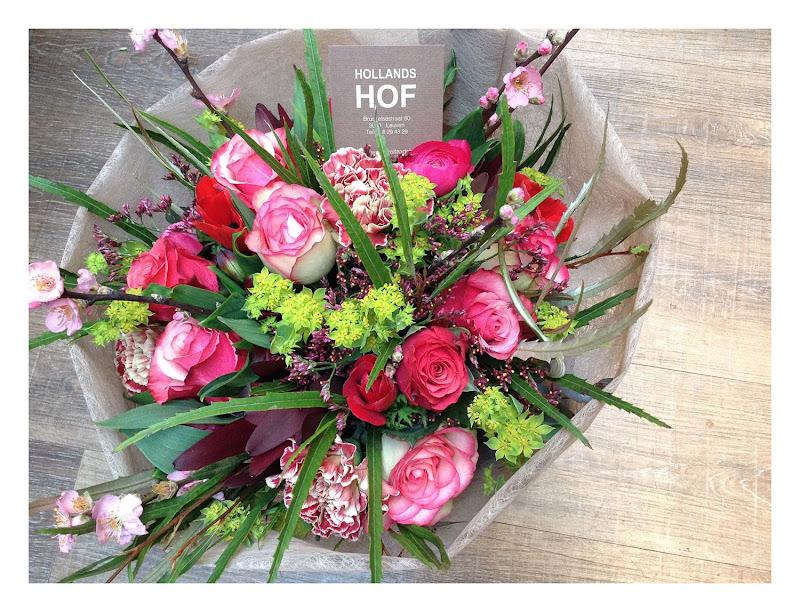 Bont boeket bloemen (Large)